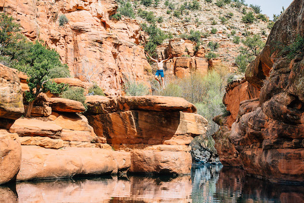 Sedona-Swimming-Holes-The-Crack-Wet-Beaver-Creek-Bell-Crossing-Swimming-Hole-2